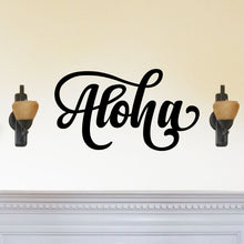 Load image into Gallery viewer, Stylish Aloha Sign