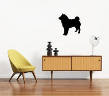 Load image into Gallery viewer, Shiba Inu Dog Silhouette Sign