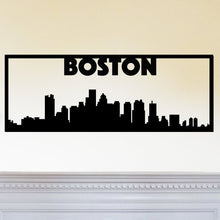 Load image into Gallery viewer, Boston City Skyline Sign