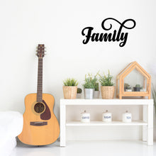 "Load image into Gallery viewer, Elegant ""Family"" Sign"