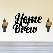 "Load image into Gallery viewer, Elegant ""Home Brew"" Sign"