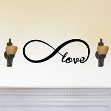 "Load image into Gallery viewer, ""Love"" Forever Infinity Symbol Sign"
