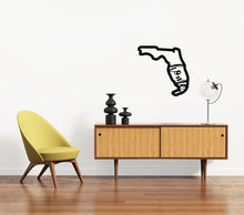 Load image into Gallery viewer, Florida State Silhouette Sign