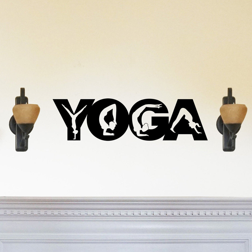 Yoga Poses Sign