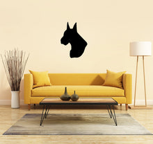 Load image into Gallery viewer, Great Dane Dog Head Silhouette Sign