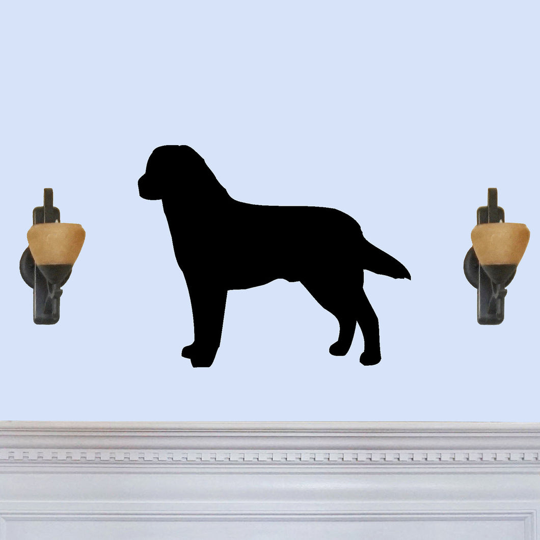 Labrador Retriever Dog Silhouette Sign