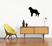 Load image into Gallery viewer, Saint Bernard Dog Silhouette Sign