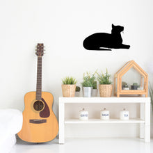 Load image into Gallery viewer, Oriental Shorthair Cat Breed Silhouette Sign