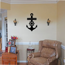 Load image into Gallery viewer, Anchor Marine Sign
