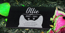Load image into Gallery viewer, Feline Themed Pet Marker Headstone