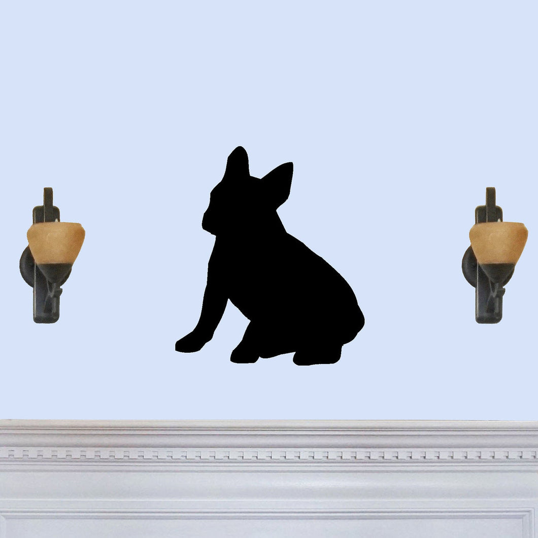 French Bulldog Silhouette Sign