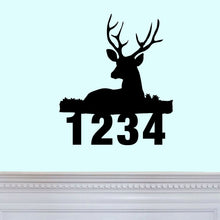 Load image into Gallery viewer, Deer Address Sign