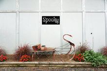 Load image into Gallery viewer, Simple Spooky Halloween Themed Sign