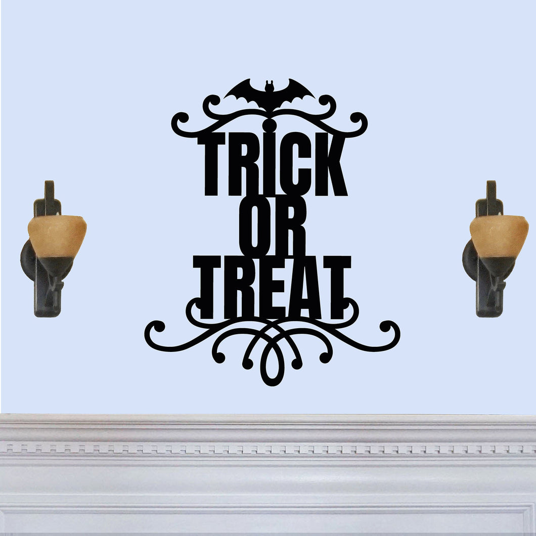 Trick or Treat Halloween Themed Sign