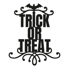 Load image into Gallery viewer, Trick or Treat Halloween Themed Sign