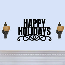 "Load image into Gallery viewer, Stylish ""Happy Holidays"" Sign"