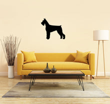 Load image into Gallery viewer, Giant Schnauzer Dog Silhouette Sign