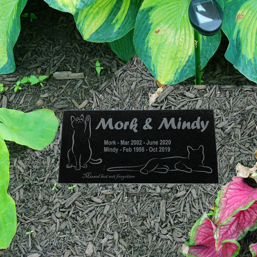 Customized Cat Pet Marker Headstone