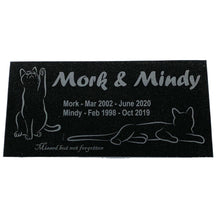 Load image into Gallery viewer, Customized Cat Pet Marker Headstone