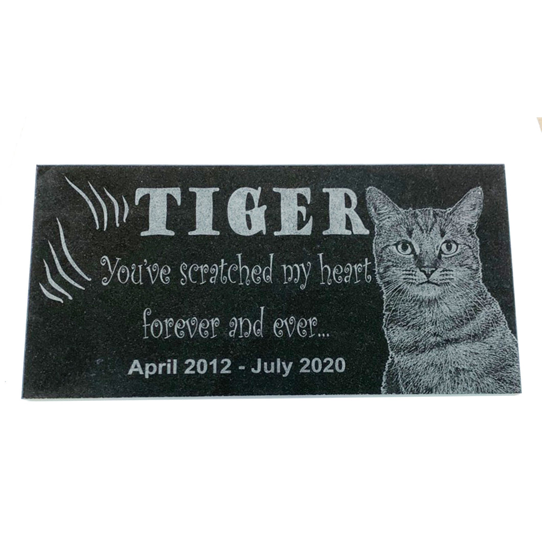 Customized Cat Themed Pet Marker