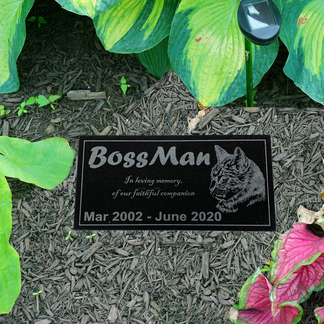 Customized Pet Marker Headstone