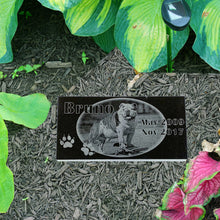 Load image into Gallery viewer, Custom Photo Dog Themed Pet Marker Headstone