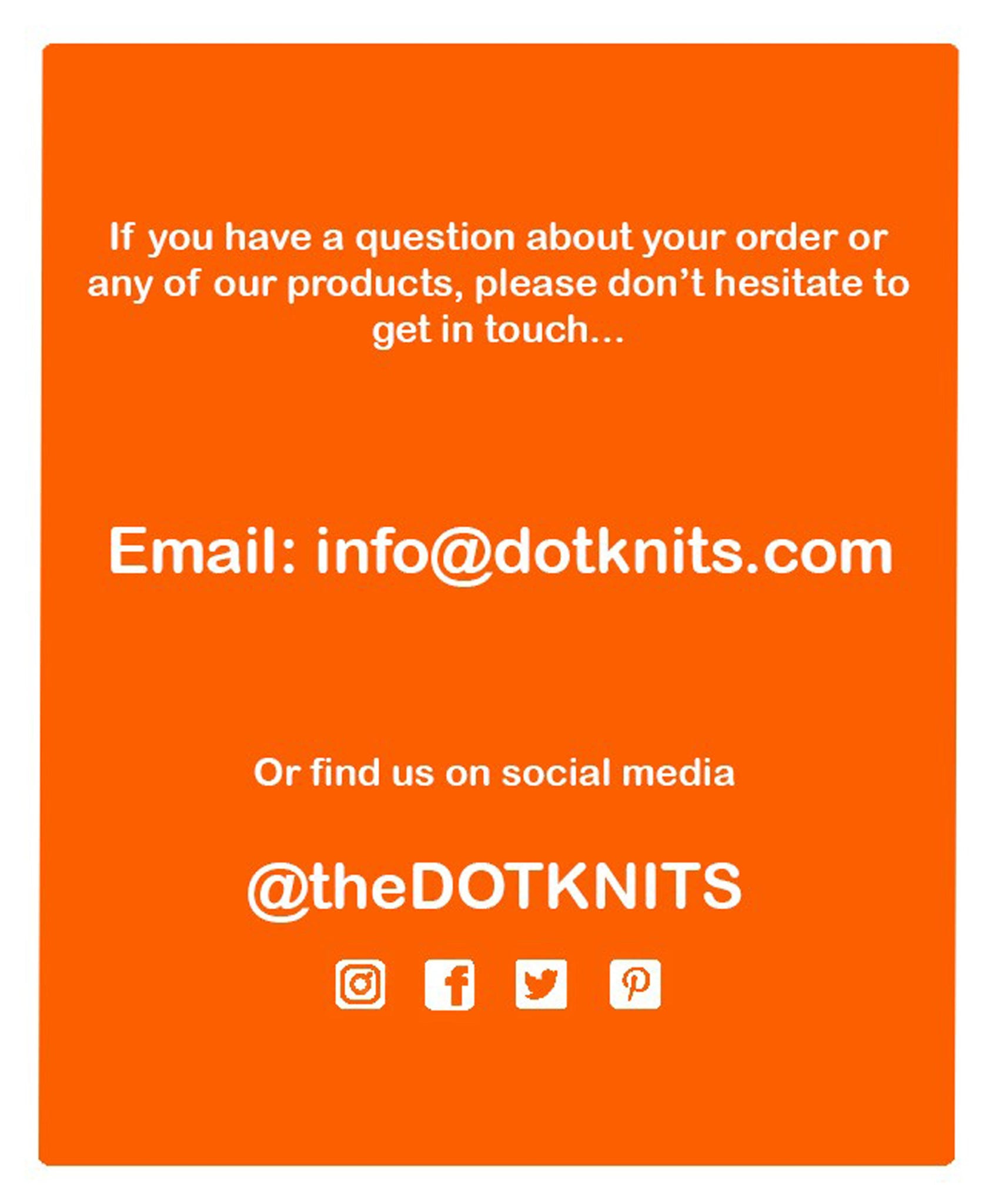 Dot Knits Scarves Contact Details