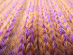 Load image into Gallery viewer, Ribbed Mohair Scarf - Orange