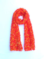 Load image into Gallery viewer, Dot Knits Flame Knit Scarf