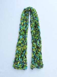 Dot Knits Scarves Forest Dream