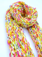 Load image into Gallery viewer, Dot knits scarves higgledy-piggledy scarf
