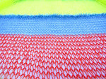 Load image into Gallery viewer, Dot knits lollipop stripe knit scarf close-up
