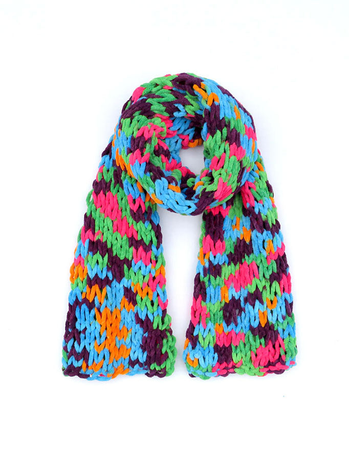Dot Knits Scarves - Squishy Scarf Mixed