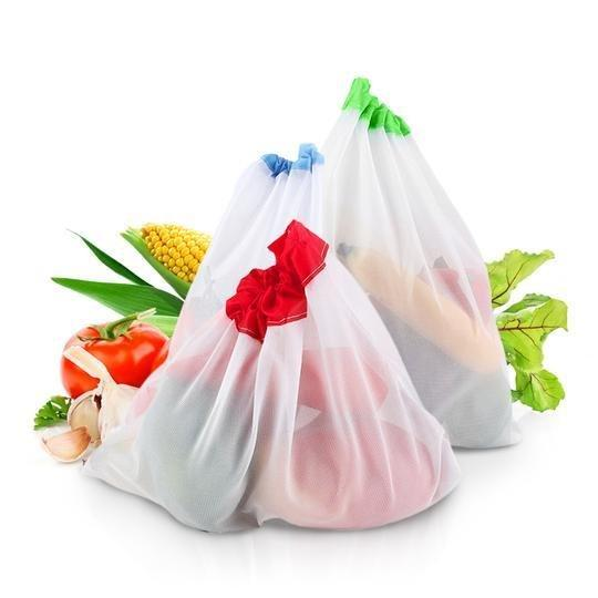 Zero-Waste Reusable Produce Bags (12 pcs./set) - ECOINNOVA