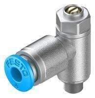 ONE-WAY FLOW CTRL VALVE, QS-4-M5, 10BAR