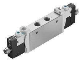 AIR SOLENOID VALVE, G1/8, 8BAR, 24VDC