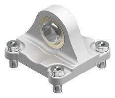 SWIVEL FLANGE, 80MM, DIE-CAST ALUMINIUM