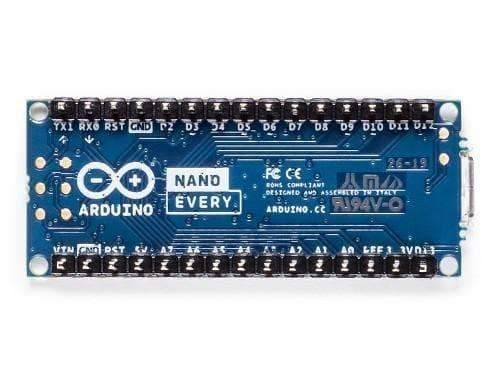 Arduino Nano Every with headers-ABX00033