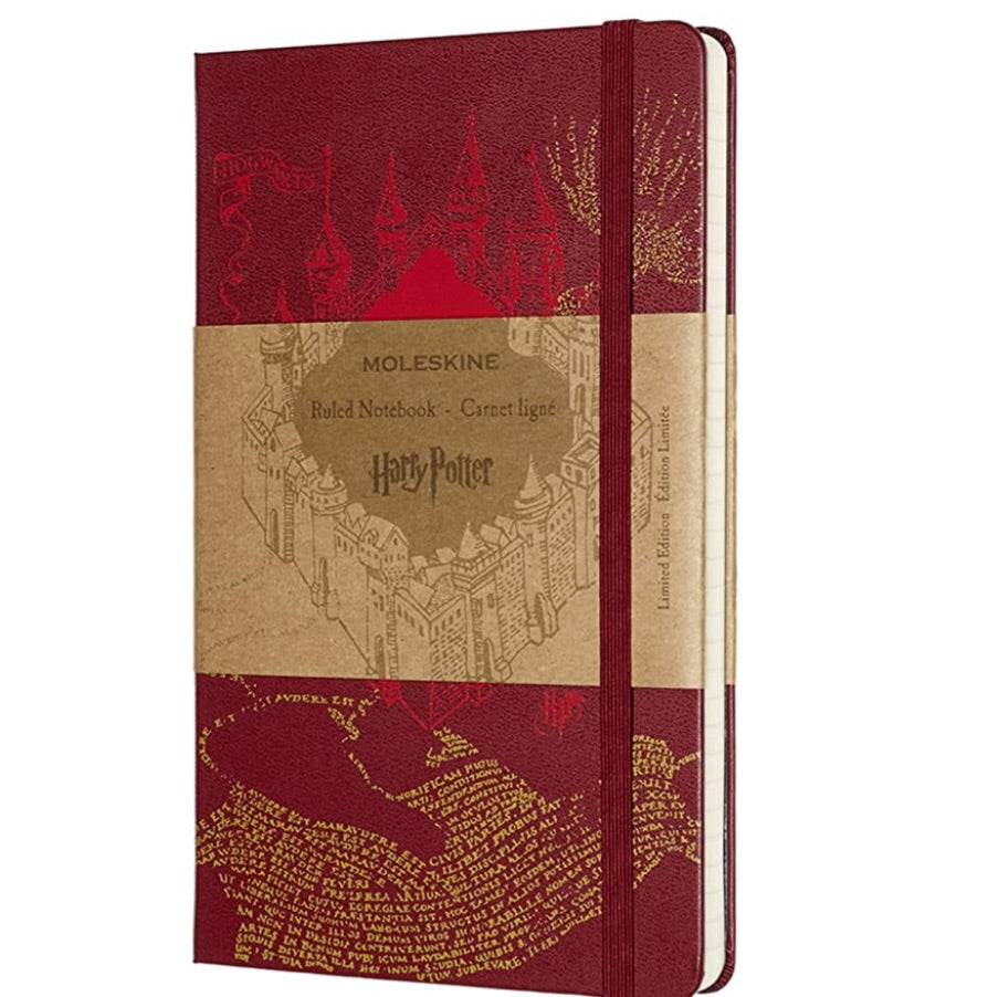 Moleskin Harry Potter Ruled Notebook Red