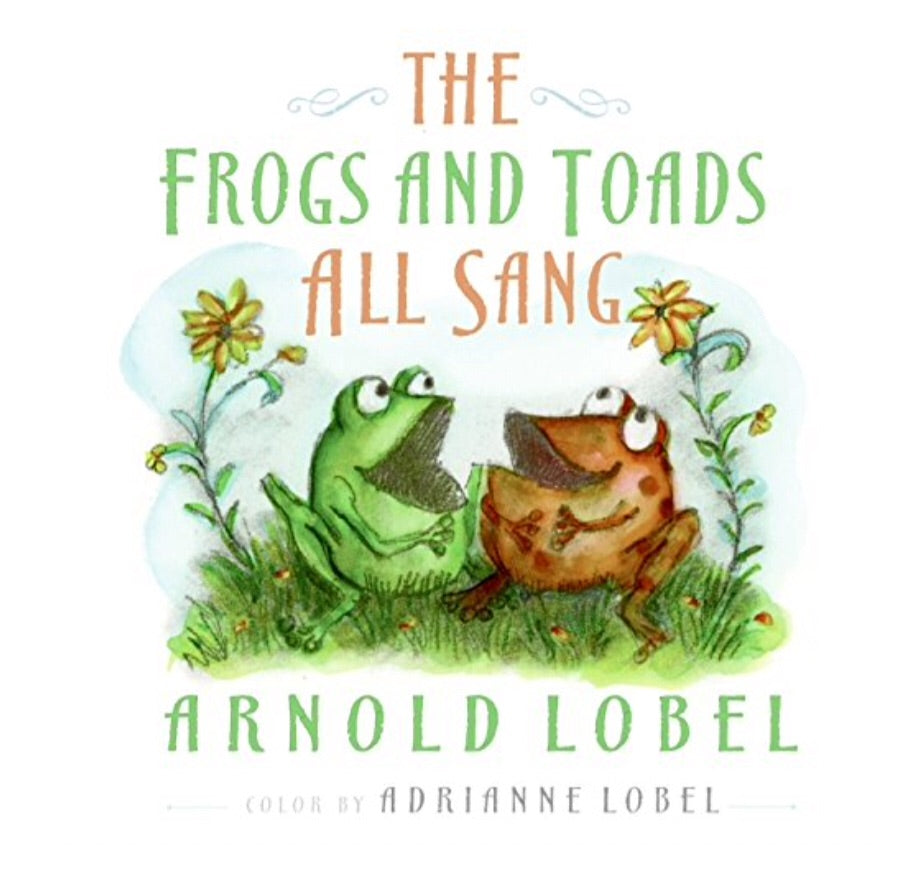 Frogs and Toads All Sang