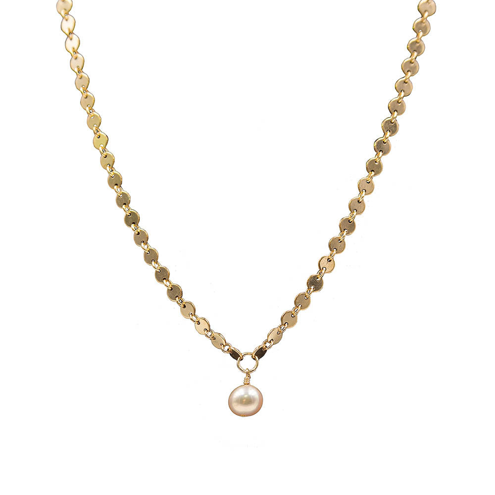 The Lea Necklace in Gold