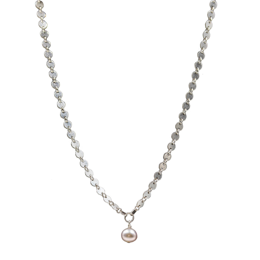 The Lea Necklace in Sterling Silver