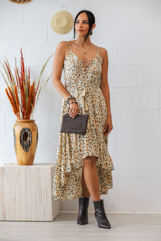 Beth Dress in Safari