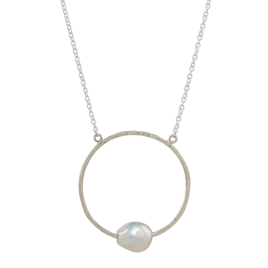 Infinity Freshwater Pearl Necklace