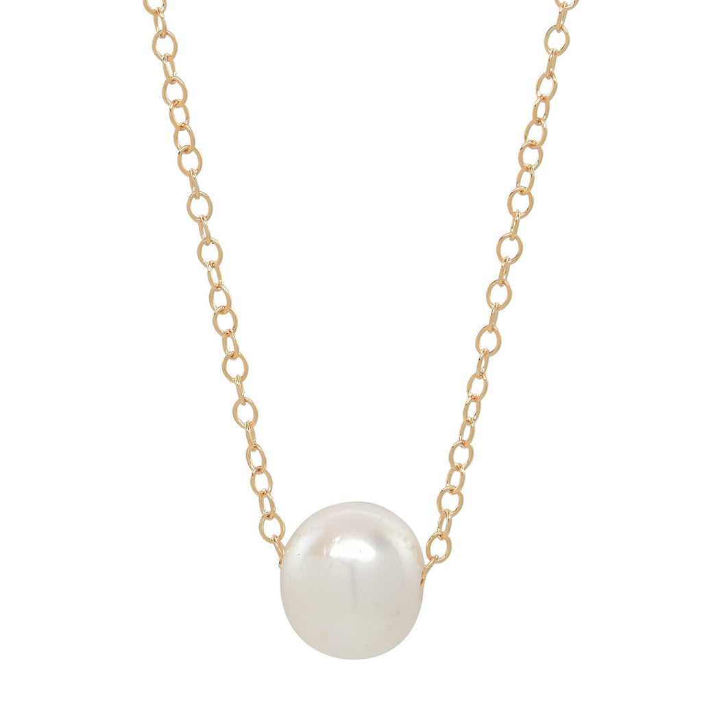 Mini Freshwater Floating Pearl Necklace
