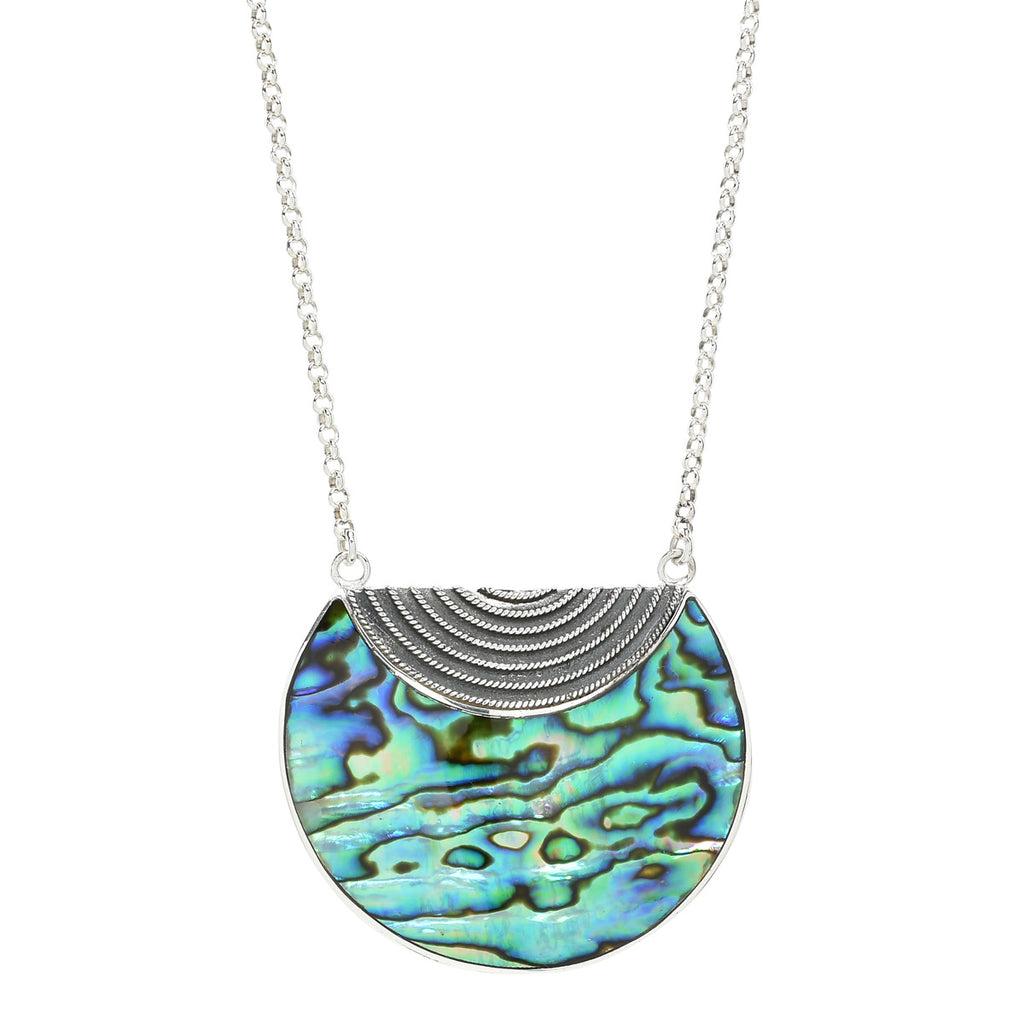 Luna Necklace in Abalone
