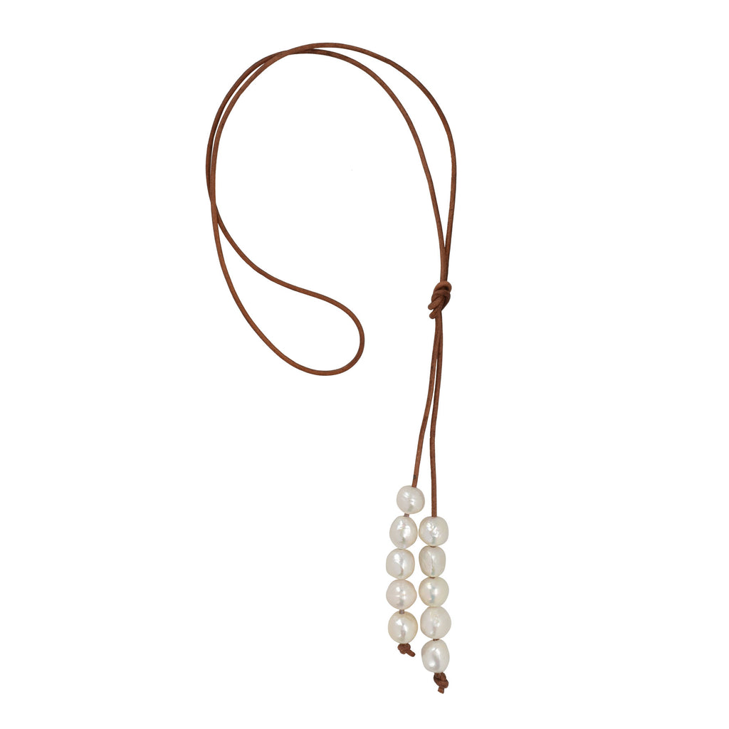 Meraki Necklace in Freshwater Pearls