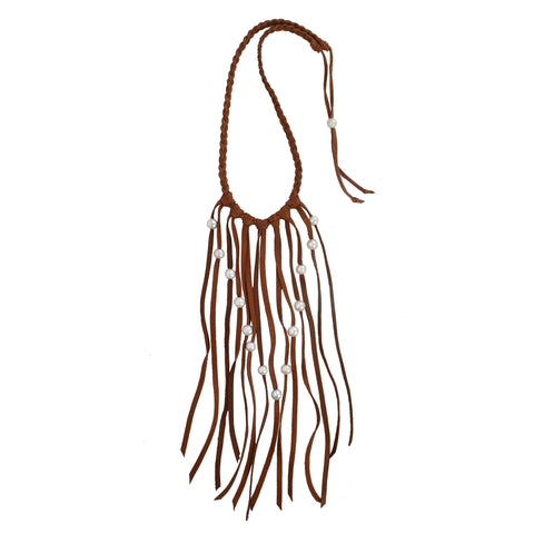 Navajo Fringe Necklace