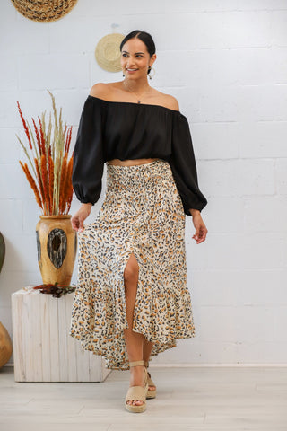 Drifter Skirt in Safari