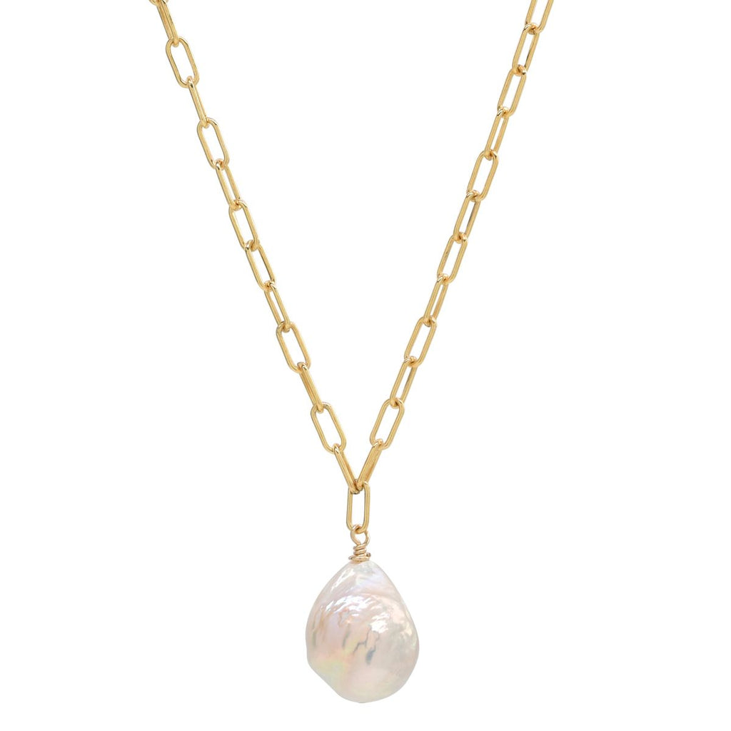 Mali Necklace in Freshwater Pearl